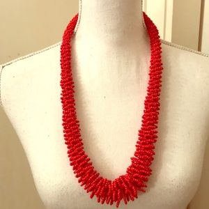 Tory Burch Seed Bead Necklace